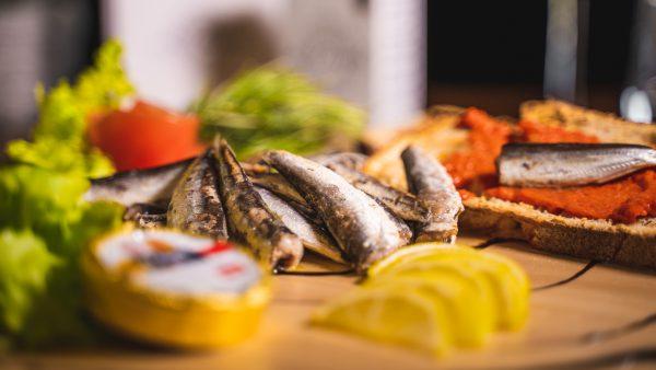 Mini sardines 16/20 gros plan suggestion