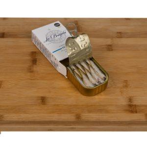 Mini sardines 16/20 boite ouverte