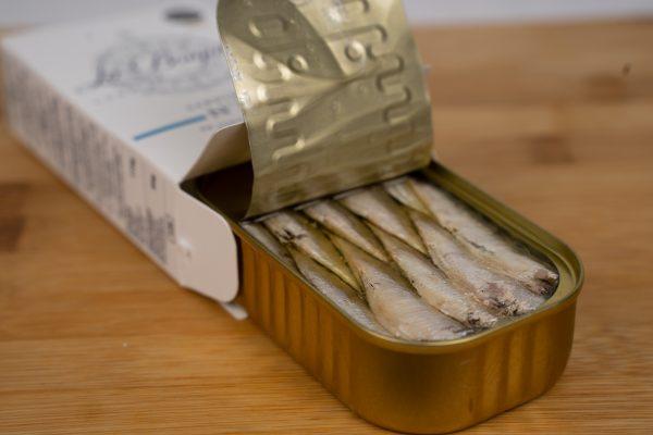 Mini sardines 16/20 gros plan