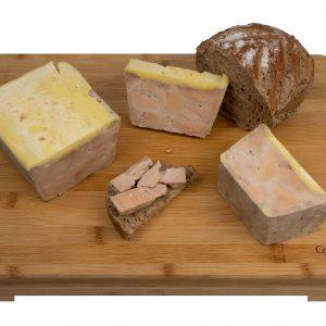 Foie Gras mi-cuit - Suggestion de présentation