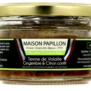 Terrine Volaille Gingembre & Citron Confit 130g