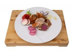 Cochon de Lait 1 part (suggestion de présentation)